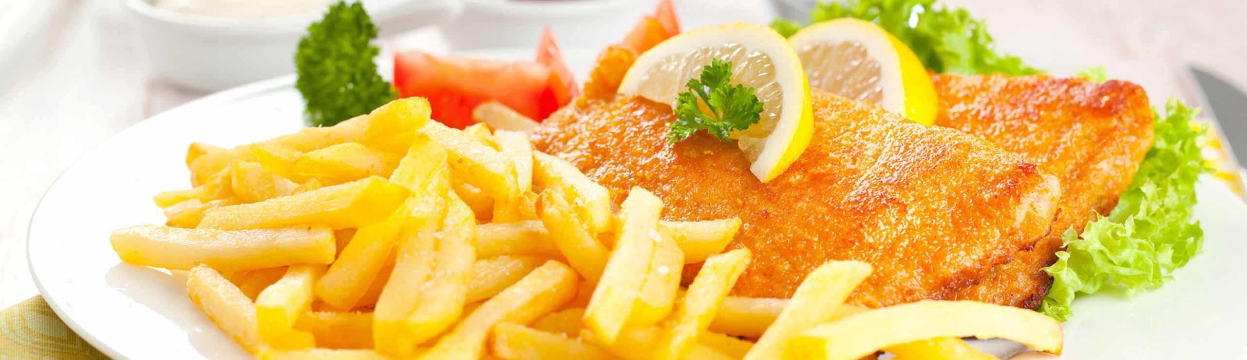 Vorspeisen, Fisch- und Fleischgerichte